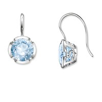 Thomas Sabo Glam And Soul Ts Blue Silver Earrings