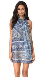 Haute Hippie Flotus Dress Nixon Jacquard