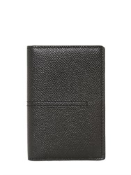 Tod's Grained Leather Vertical Card Holder