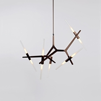 The Future Perfect Agnes 10 Light Chandelier