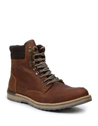 Gbx Draco Leather Boots Brown