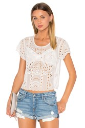Lovers Friends Weekender Top White