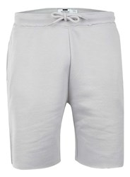 Topman Grey Raw Edge Loungewear Shorts