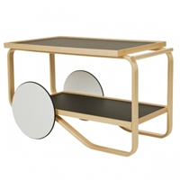 Aalto Tea Trolley 901 Black Artek Tables Furniture Finnish Design Shop