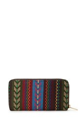 Forever 21 Worldly Tribal Patterned Wallet
