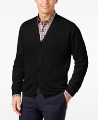 Weatherproof Vintage Men's Textured Cardigan