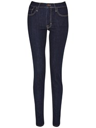 French Connection Skinny Stretch Rebound Denim Jeans Rinse