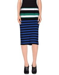 Erika Cavallini Semi Couture Erika Cavallini Semicouture Skirts 3 4 Length Skirts Women Blue