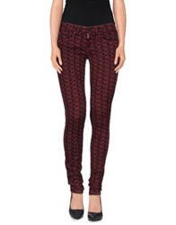 Andy Warhol By Pepe Jeans Casual Pants Maroon