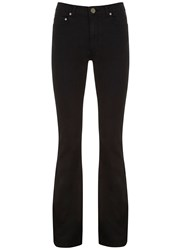 Mint Velvet Savannah Black Flare Jean