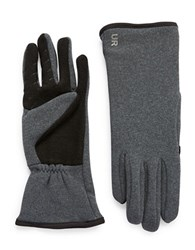 Ur Powered Fleece Lined Tech Gloves Grey