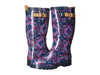 Chooka Magic Carpet Rain Boot Navy Women's Rain Boots