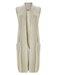 Phase Eight Ciri Shawl Collar Waistcoat Grey