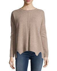 Design History Cashmere Dolman Long Sleeve Sweater Butrscthtr