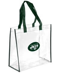Forever Collectibles New York Jets Clear Tote Bag