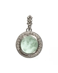 Armenta Green Turquoise And Diamond Enhancer Pendant Women's