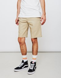 Dickies 273 Slim Straight Work Short Tan
