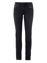Marc By Marc Jacobs Lou Mid Rise Skinny Jeans