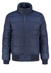 Tom Tailor Denim Stan Winter Jacket Night Sky Blue Dark Blue