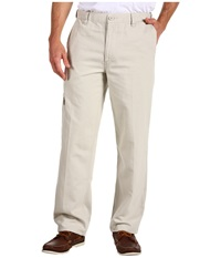 Dockers Comfort Cargo D3 Classic Fit Canvas Light Buff Men's Casual Pants Bone