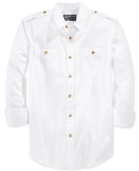 American Rag Men's Long Sleeve Shirt Only At Macy's Bright White