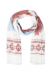 Only Onlelisa Scarf Whisper White