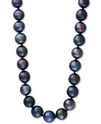 Effy Cultured Tahitian Pearl 13Mm Collar Necklace In 14K White Gold Black