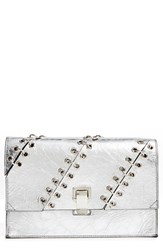 Proenza Schouler 'Small Lunch Bag' Crackled Metallic Leather Clutch