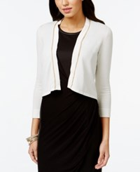 Thalia Sodi Chain Trim Bolero Cardigan Only At Macy's