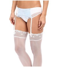 B.Tempt'd B.Sultry Garter Belt Bridal White Women's Lingerie