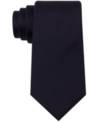 Kenneth Cole Reaction Solid Slim Tie Navy