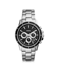 Fossil Briggs Stainless Steel Men's Chronograph Watch Black