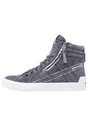 Diesel Dstring Plus W Hightop Trainers Jet Black