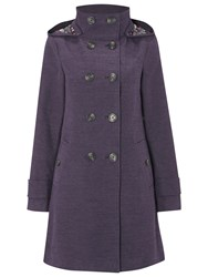 White Stuff Moleskin Coat Navy