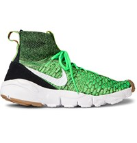 Nike Air Footscape Magista Flyknit High Top Sneakers Green