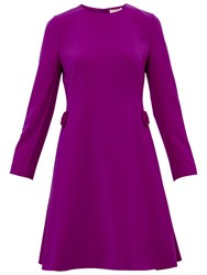 Ted Baker Emorly Side Bow Dress Purple