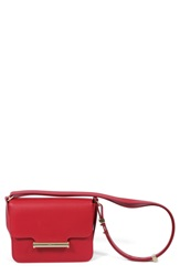Jason Wu 'Mini Diane' Calfskin Leather Crossbody Bag Scarlet