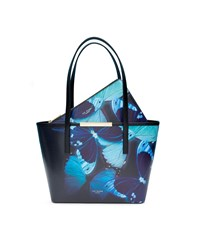 Ted Baker Abbylee Butterfly Collective Small Shopper Bag Black