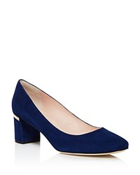 Kate Spade New York Dolores Too Mid Heel Pumps Bloomingdale's Exclusive Lapis Blue
