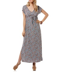 Candc California Paisley Maxi Dress Simply Taupe
