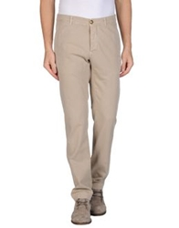 M.Grifoni Denim Casual Pants Beige