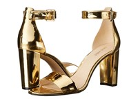 Nine West Nora Gold Synthetic Women's Shoes