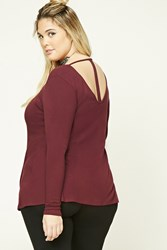 Forever 21 Plus Size T Back Tunic