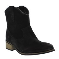 Marta Jonsson Western Style Ankle Boot Black