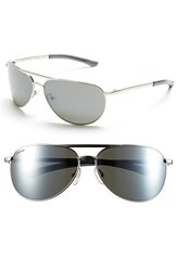 Women's Smith Optics 'Serpico Slim' 60Mm Polarized Aviator Sunglasses