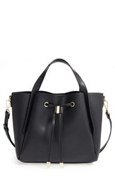 Bp. Textured Faux Leather Crossbody Tote