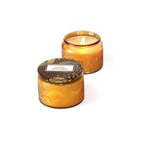 Voluspa Japonica Limited Edition Glass Candle Baltic Amber Small