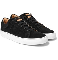 Greats The Royale Suede Sneakers Black