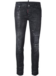 Dsquared2 'Cigarette' Jeans Black