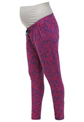 Mama Licious Mlritana Tracksuit Bottoms Twilight Blue Dark Blue